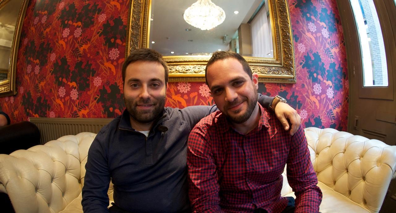 Oriol i David Londres