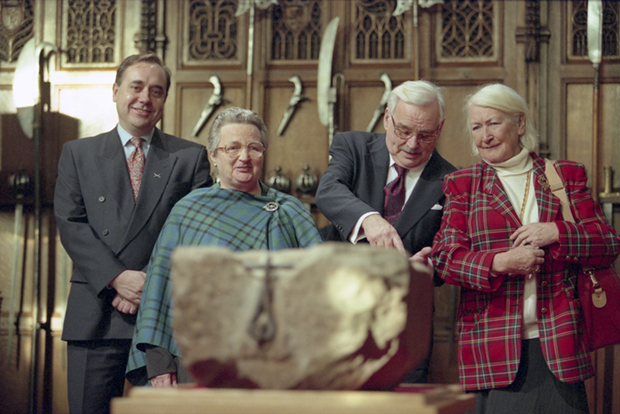 The return of the Stone of Destiny to Scotland.